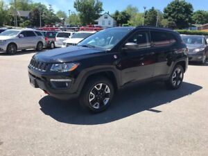 2017 Jeep New Compass Trailhawk | LEATHER | PANOROOF | REAR CAM