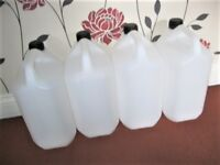 5L Litre Water Storage Container