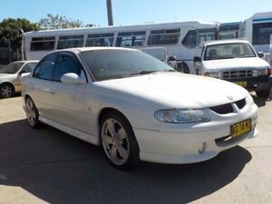 2002 Holden Commodore VX II S White 4 Speed Automatic Sedan North St Marys Penrith Area Preview