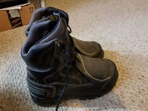 Barely used: Steel Toe Boots