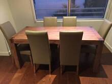 Silverwood 7 piece dining suite's table. Sandringham Bayside Area Preview