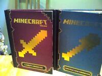minecraft mojand books CONSTRUCTION HANDBOOK & COMBAT HANDBOOK