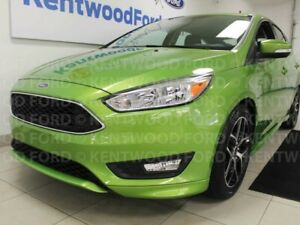2018 Ford Focus SE hatch with heated seats, heated steering whee