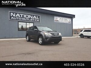 2015 Toyota RAV4 - LE, ECO, CLEAN CARPROOF ,AWD