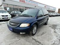 2001 CHRYSLER TOWN & COUNTRY LIMITED,DVD, CERTIFIED E-TESTED