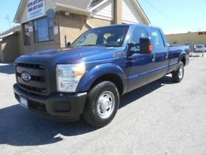 2012 FORD F250 XL Super Duty 3/4Ton Crew Cab 8Ft Box ONLY 30Km