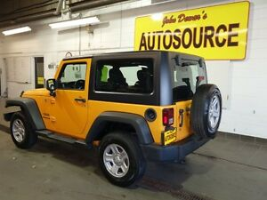 2012 Jeep Wrangler Sport 4WD Peterborough Peterborough Area image 4