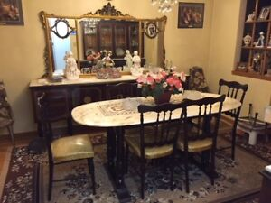 Antique Italian Dining Room Set