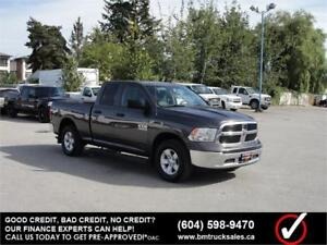 2014 RAM 1500 QUAD CAB SHORT BOX 4X4