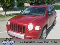 2007 Jeep Compass Limited 4x4 1 owner local