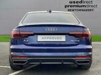 2020 Audi A4 35 Tfsi Black Edition 4Dr S Tronic Auto Saloon Petrol Automatic
