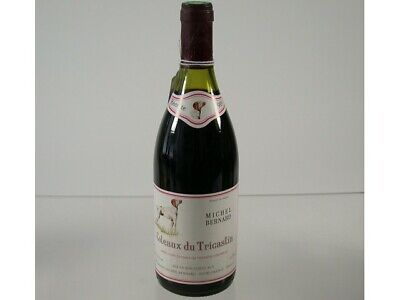 Wein Rotwein Red Wine 1989 Michel Bernard Coteaux Du Tricastin France 672/0