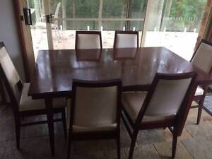 Dining Table, 6 chairs Charlestown Lake Macquarie Area Preview