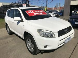 2007 Toyota RAV4 ACA33R CV (4x4) White 4 Speed Automatic Wagon Brooklyn Brimbank Area Preview