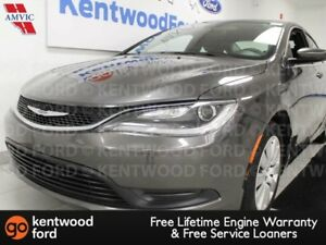 2015 Chrysler 200 LX FWD with push start/stop