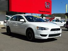 2013 Mitsubishi Lancer CJ MY13 ES Sportback White 6 Speed Constant Variable Hatchback Garbutt Townsville City Preview