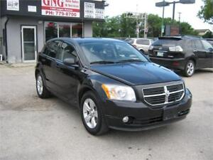 2011 DODGE CALIBER UPTOWN REDUCED PRICE $ 6295(CLEAN TITLE)
