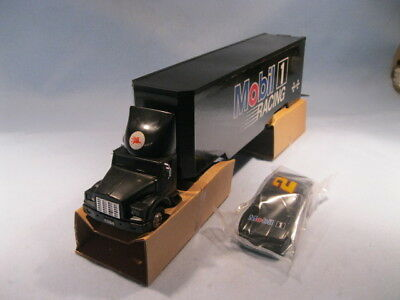 1994 COLLECTOR'S EDITION MOBIL TOY RACE CAR CARRIER