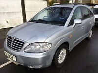 Ssangyong Rodius 2.7 TD ES T-Tronic 5dr 7 SEATER FULL SERVICE HISTORY 2008 (58 reg), MPV