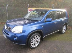 Nissan X Trail 2.0 Tekna DCi 173 Turbo Diesel 4x4 (atlas blue) 2010