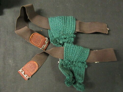 Boy Scout Garters with Green Tabs, 1950-60