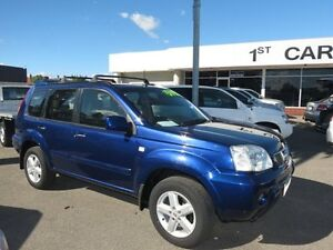 2005 Nissan X-Trail TI Blue 5 Speed Manual 4x4 Wagon Victoria Park Victoria Park Area Preview