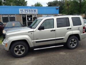 2008 Jeep Liberty Sport No Accidents! Fully Certified!