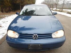 2007 Volkswagen Golf, Auto ,Air , Accident Free, Clean Car $2995