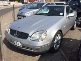 stunning automatic convertible slk! don't miss out this summer!