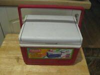 Coleman picnic/school cool box