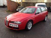 Alfa Romeo 156 JTD Turismo 1.9 Diesel Estate -Low Miles - Long MOT - Cheap to run