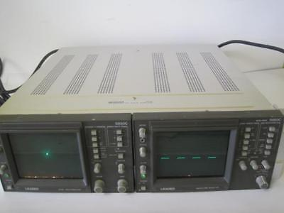 Leader Vector Waveform Monitor 525 5860c Wntsc Vectorscope 5850c Rack Adapter