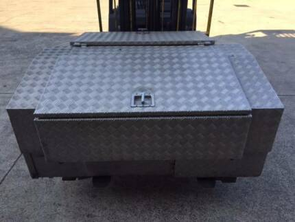 Alloy checker plate toolbox