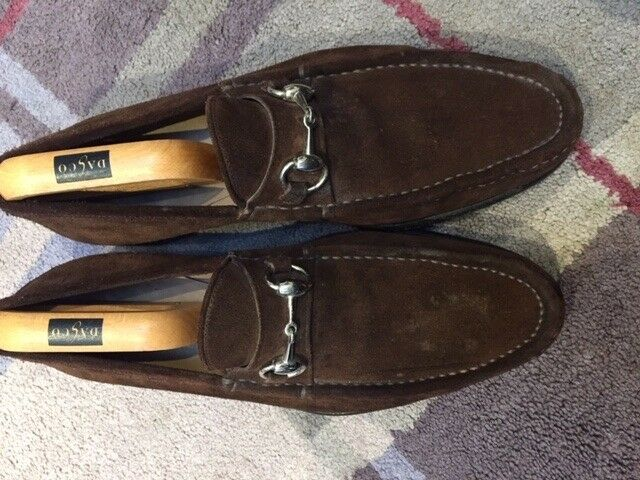 de3a61b74 Men's Gucci Shoes Brown Suede Loafers | in Morden, London | Gumtree