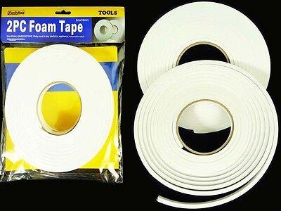"3M 4716 1//4/"" x 36YDS Single Sides Foam Black Tape NEW OEM C1 M"
