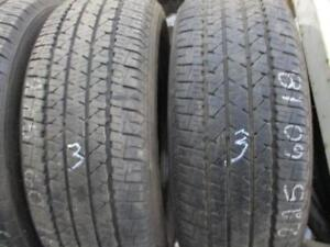 225/60R16 2 ONLY MATCHING USED FIRESTONE A/S TIRES