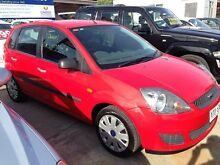 2006 Ford Fiesta WQ LX Red 5 Speed Manual Hatchback Park Holme Marion Area Preview
