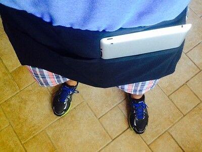 2 Black Server Waitress 2 Pocket Waist 10x 19 Apron Fits A Large Tablet