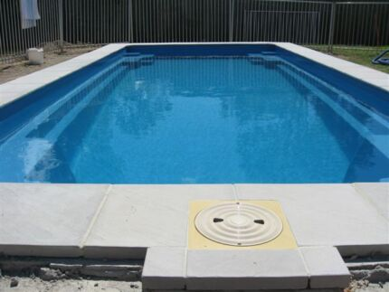 Swimming Pool fibreglass shell only 7.7mtrs x 3.4 mtrs