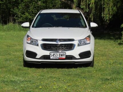 2015 Holden Cruze JH Series II MY15 Equipe White 6 Speed Sports Automatic Sedan Hahndorf Mount Barker Area Preview