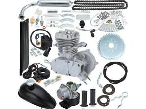 Motorized Bike Petrol Gas Bicycle Engine 80cc 2 Stroke Kit Sping