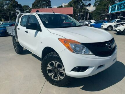 2012 Mazda BT-50 UP0YF1 XT White 6 Speed Manual Cab Chassis Dandenong Greater Dandenong Preview