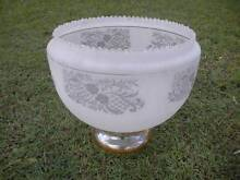 Old Decorative Glass Light Shade - Large $95 Albion Brisbane North East Preview