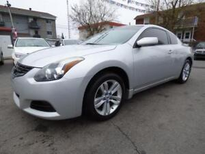 2012 NISSAN ALTIMA 2.5 S COUPE (MANUELLE, TOIT, MAGS, FULL!!)
