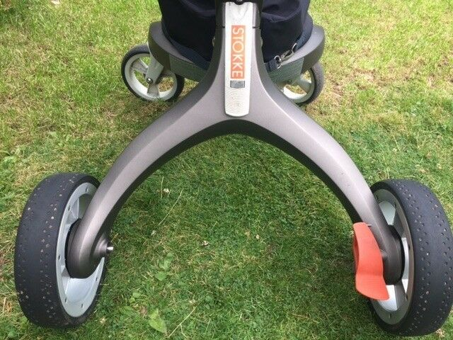 Stokke Xplory with original footmuff
