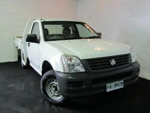 2004 Holden Rodeo RA DX Crew Cab 4x2 Alpine White 5 Speed Manual Utility Derwent Park Glenorchy Area Preview