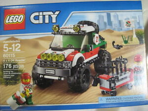 Lego, Mega Blok, Playmobil Sets and parts, New and used.
