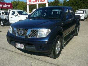 2011 Nissan Navara D40 ST (4x4) Blue 5 Speed Automatic Dual Cab Pick-up Rothwell Redcliffe Area Preview