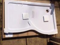 Brand New White Walk-in Shower Tray (from VictoriaPlum)