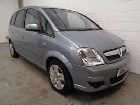 VAUXHALL MERIVA MPV , 2010 , ONLY 52000 MILES + FULL HISTORY, YEARS MOT, FINANCE AVAILABLE, WARRANTY